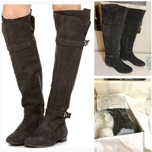 Sigerson Morrison leather over the knee boots 9